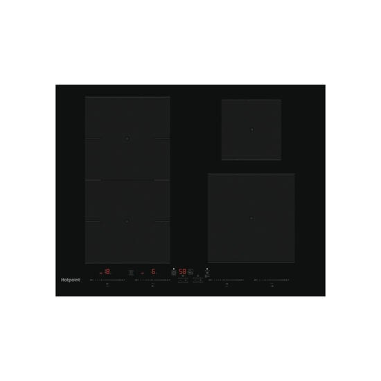 Hotpoint ACC 654 F/NE Induction Ceramic Hob - Black