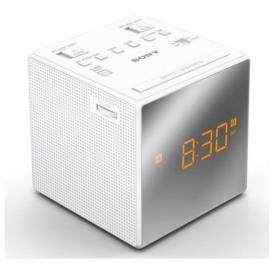 Sony ICF-C1TW FM/AM Clock Radio - White