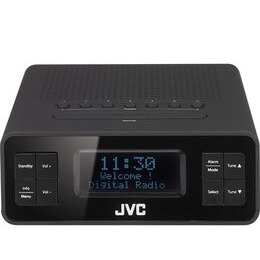 JVC RA-D38-B DAB/FM Clock Radio - Black Reviews