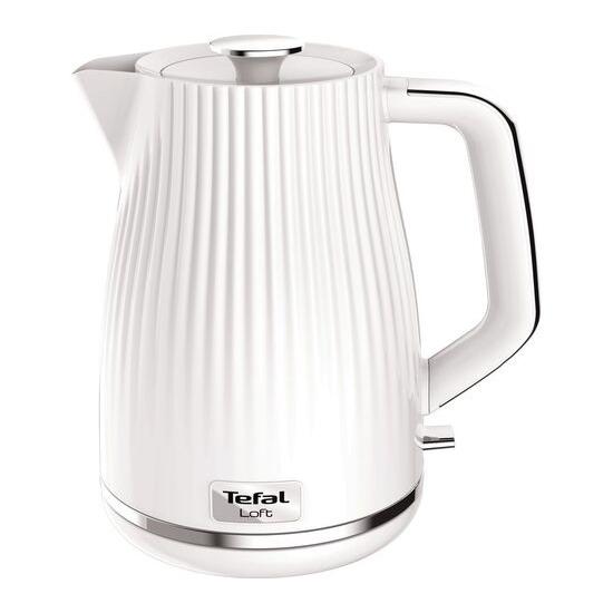 TEFAL Loft KO250140 Rapid Boil Traditional Kettle - Pure White