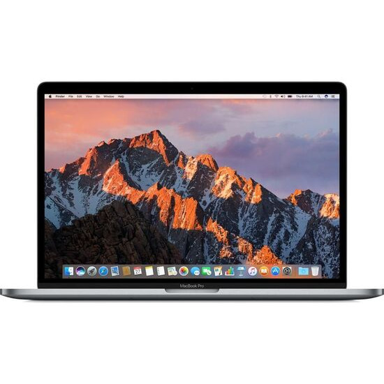 """Apple MacBook Pro 15"""" with Touch Bar - 256 GB SSD, Silver (2018)"""