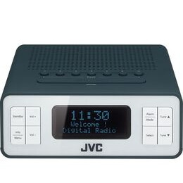 JVC RA-D38-H DAB/FM Clock Radio - Grey Reviews