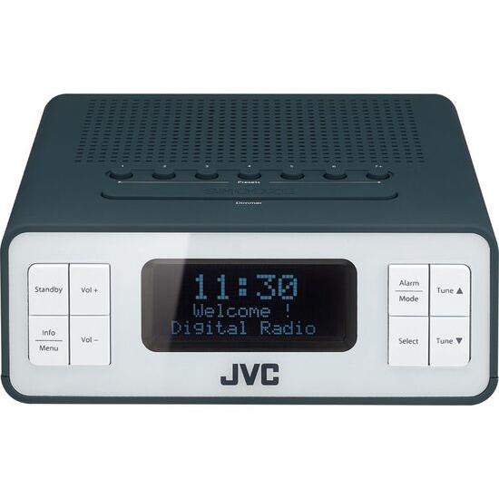 JVC RA-D38-H DAB/FM Clock Radio - Grey