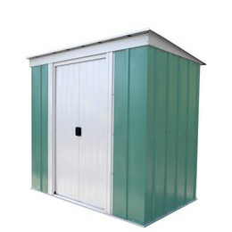 Arrow - Pent Metal Garden Shed - 6 x 4ft