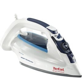 Tefal Smart Protect FV4980 Steam Iron - White & Blue Reviews