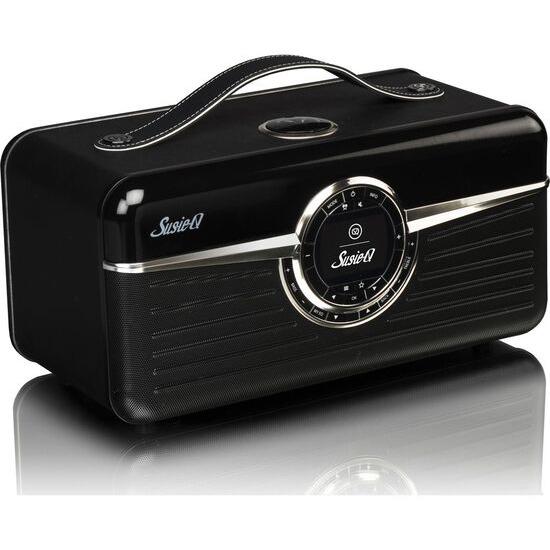 VQ Susie-Q Portable DAB+ Smart Bluetooth Clock Radio - Black