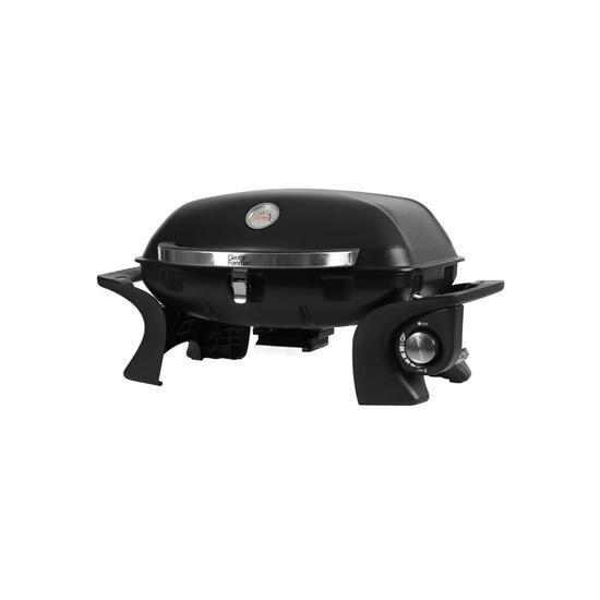 George Foreman Go Anywhere GFSBBQ1 Portable Grill Gas BBQ - Black