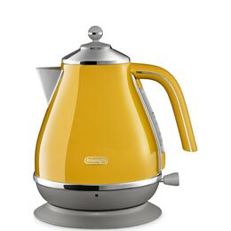 DELONGHI Icona Capitals KBOC3001.Y Jug Kettle - Yellow Reviews