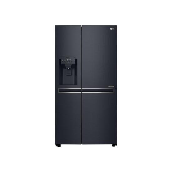 LG GSJ961MTAZ Door Door American Fridge Freezer With Non Plumbed Ice And Water Dispenser - Black