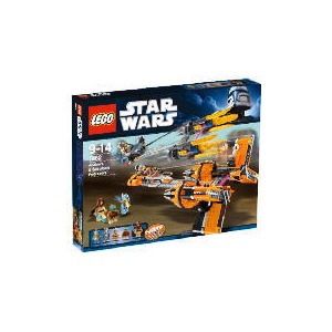 Photo of Lego Star Wars Anakin's and Sebulba's Podracers Toy