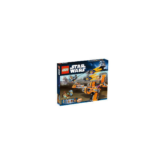 Lego Star Wars Anakin's and Sebulba's Podracers