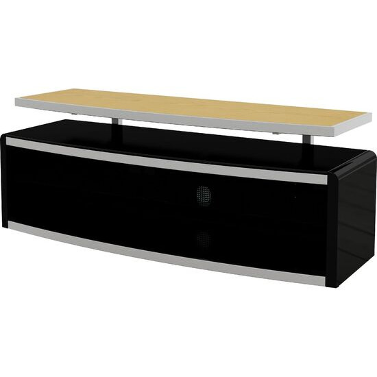 Stage 1250 mm TV Stand - Black
