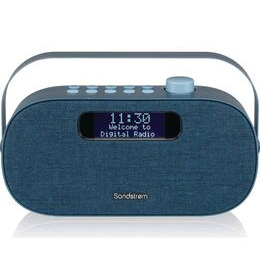SANDSTROM SF-DABA18 Portable DAB+/FM Bluetooth Radio - Blue Reviews