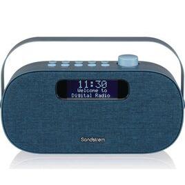 SANDSTROM SF-DABA18 Portable DAB+/FM Bluetooth Radio - Blue Reviews