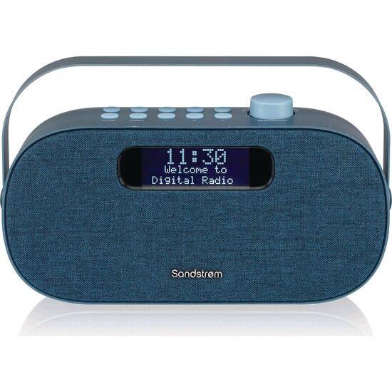 SANDSTROM SF-DABA18 Portable DAB+/FM Bluetooth Radio - Blue