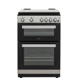 Belling FSDF608D 60 cm Dual Fuel Cooker - Silver & Black Reviews