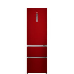 Haier A3FE635CRJ 70/30 Fridge Freezer - Red