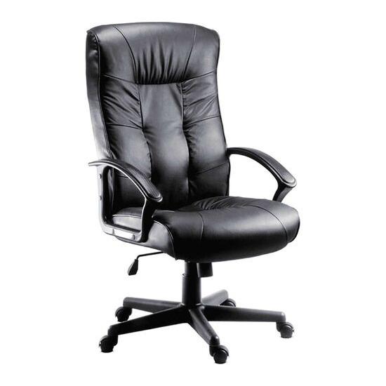 Teknik Gloucester Leather Reclining Executive Chair - Black