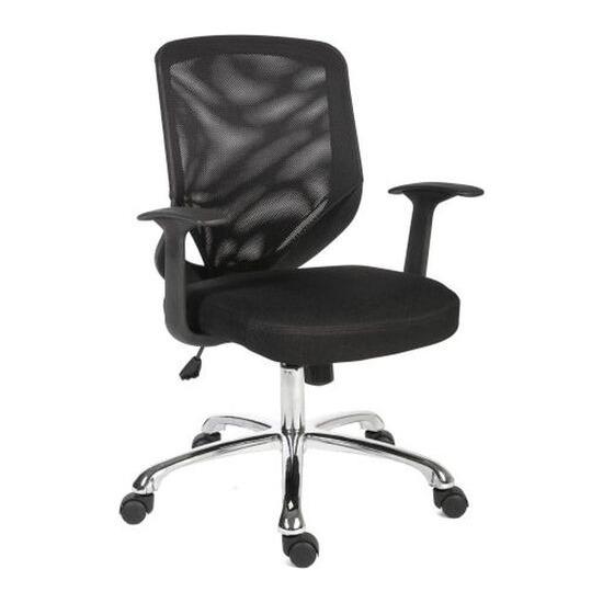 Teknik Nova Mesh Tilting Executive Chair - Black