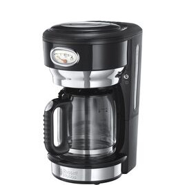 Retro Glass Filter Coffee Machine - Black Reviews