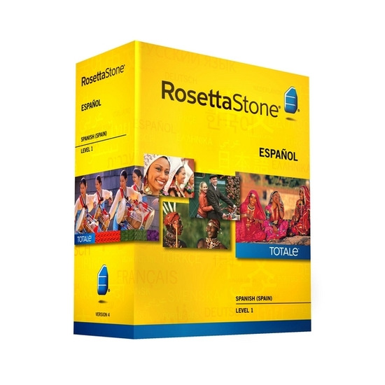 Rosetta Stone TOTALe: Spanish Version 4 Level 1