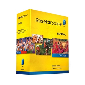 Photo of Rosetta Stone TOTALe Spanish (Spain) Version 4 Level 1-5 Software