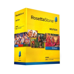Photo of Rosetta Stone TOTALe: German Version 4 Level 1-5 Software