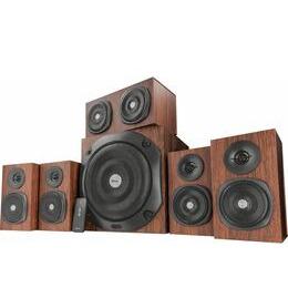 TRUST Vigor 5.1 PC Speakers - Brown