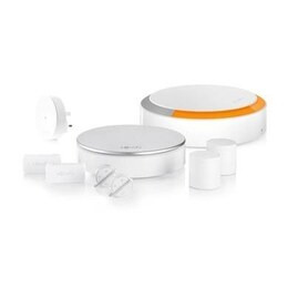 Somfy Home Security System Plug and Play Alarm with Smart Connectivity - White
