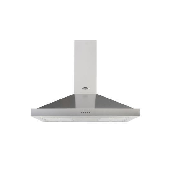 Belling Cookcentre 90 444410348 Chimney Cooker Hood - Stainless Steel