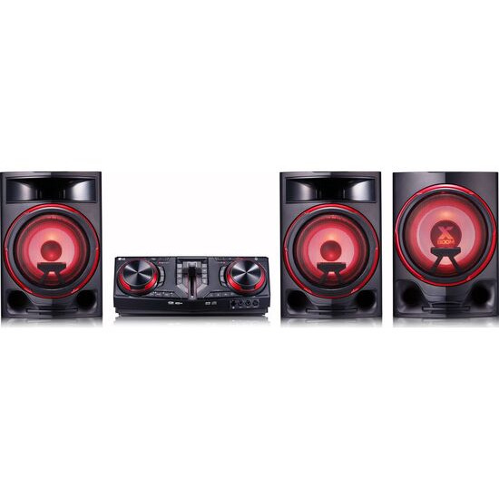 LG CJ88 Bluetooth Megasound Party Hi-Fi System - Black