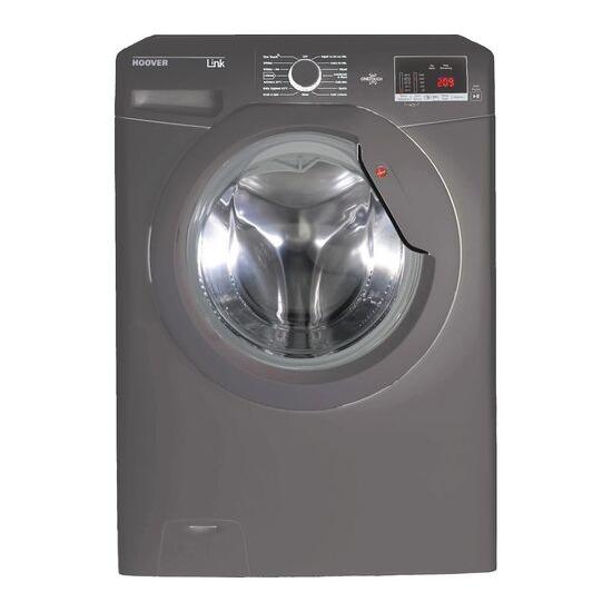 Hoover DHL 14102D3R Smart 10 kg 1400 Spin Washing Machine - Graphite