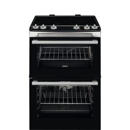 Zanussi ZCV66060XE 60 cm Electric Ceramic Cooker - Stainless Steel Reviews