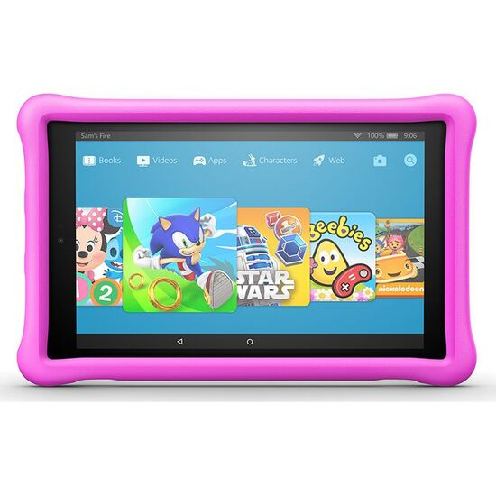 AMAZON Fire HD 10 Kids Edition Tablet (2018) - 32 GB Pink