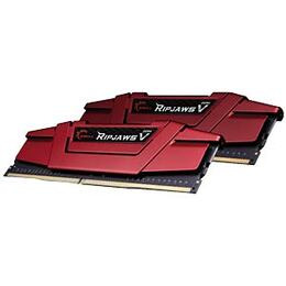 G.Skill Ripjaws V Series DDR4 2400MHz Memory Kit - Red
