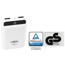 Ansmann Powerbank 10.8 Mini 10000mAh MFI with Lightning Cable - White