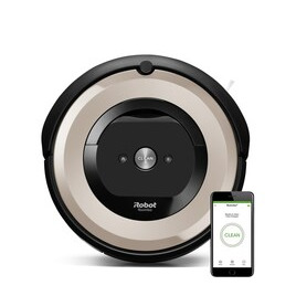 iRobot ROOMBAE5152 E5 Pets Robot Vacuum Cleaner - Smart Dirt Detect Sensors Dual Multi-Surface Rubber Brushes and  Washable dust bin