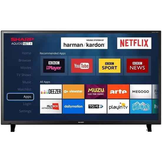 Sharp LC-48CFE6001K 48 Inch Full HD 1080p Smart LED TV