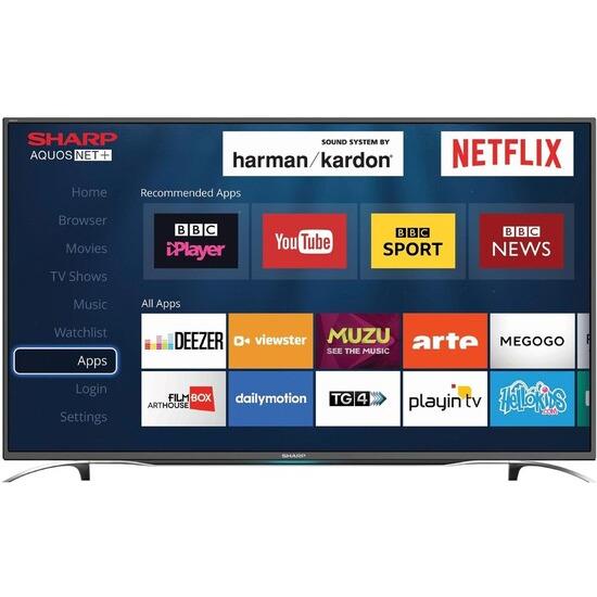 Sharp LC-49CFG6351K 49 Inch Full HD 1080p Smart D-LED TV