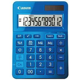 Canon LS-123K K Series 12 Digit Desktop Calculator - Blue