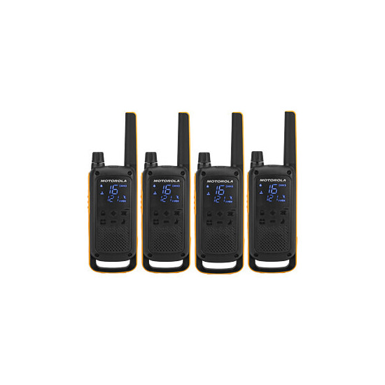 PMR446 Walkie Talkie T82 EXTREME Quad Pack Two Way Radio