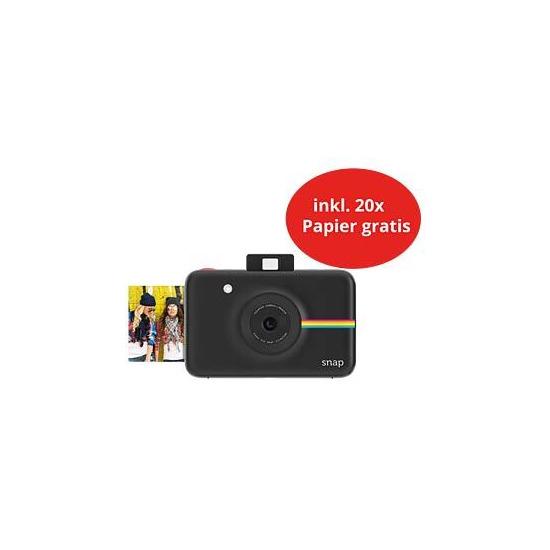 Polaroid Snap Instant Digital Camera with 20 Sheets - Black