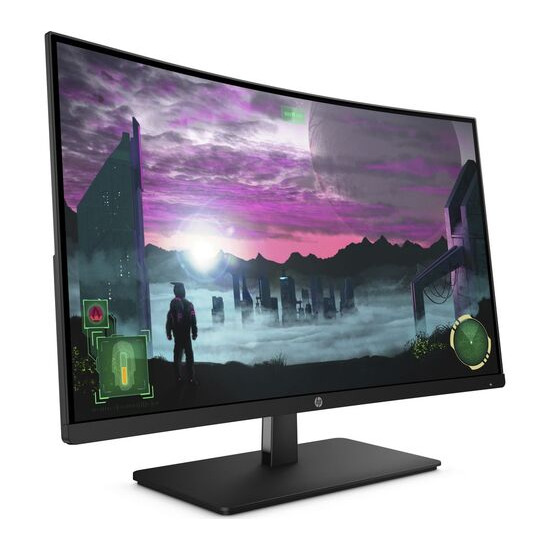 HP 27x Full HD 27 Curved LED Monitor - Black