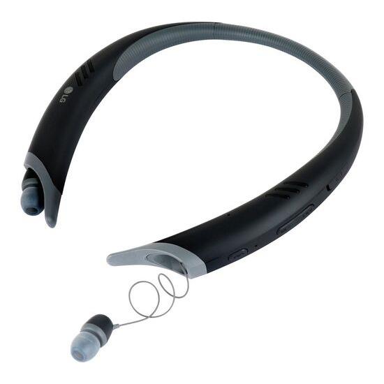 LG Tone Active+ Wireless Bluetooth Headphones - Black