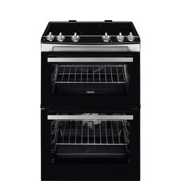 Zanussi ZCV660TRXE 60 cm Electric Ceramic Cooker - Stainless Steel Reviews