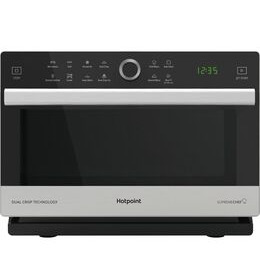 Hotpoint MWH 338 SX Combination Microwave - Black Reviews