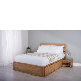 Cadot Windsor Oak Wooden Bed