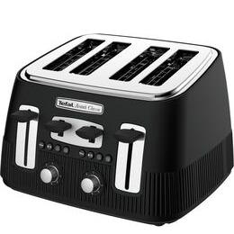 Tefal Avanti Classic TT780N40 4-Slice Toaster - Matte Black Reviews