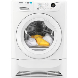 Zanussi ZDC8203WZanussi Z 8 kg Condenser Tumble Dryer - White Reviews