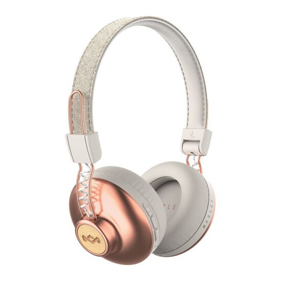 House of Marley Positive Vibrations 2 Wireless Bluetooth Headphones - Copper